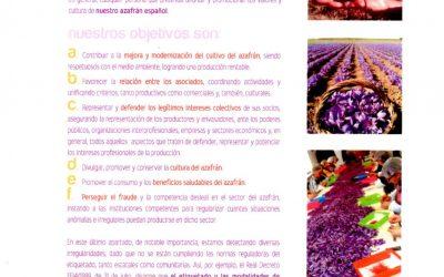 Carta de presentación Asociacion Azafran Español